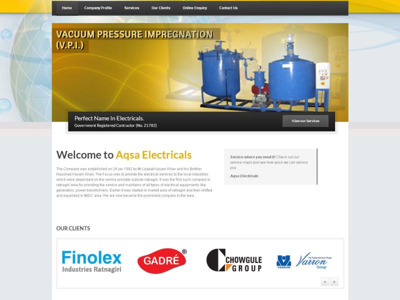 aqsa-electricals-home