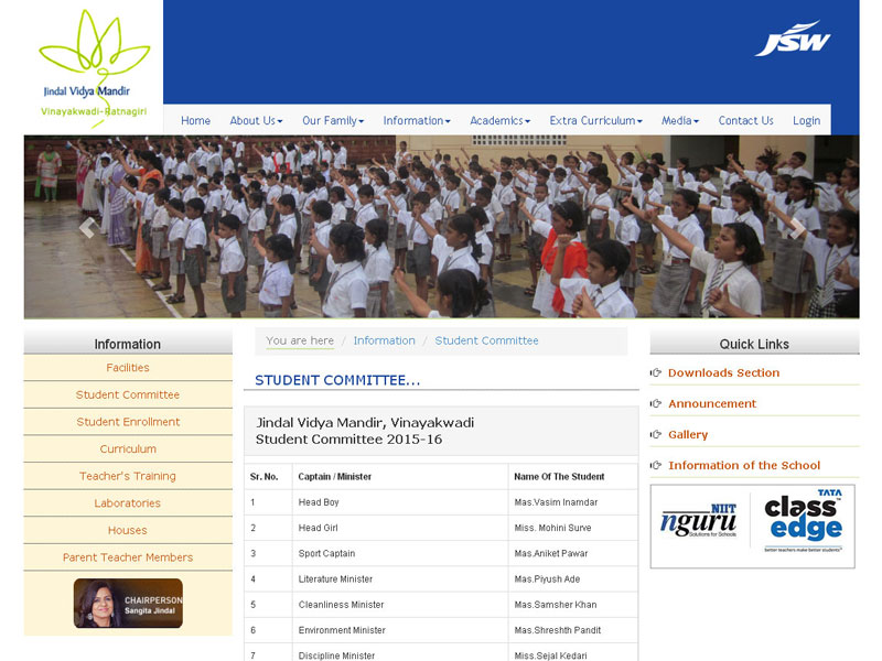 jindal-vidya-mandir-student-committee