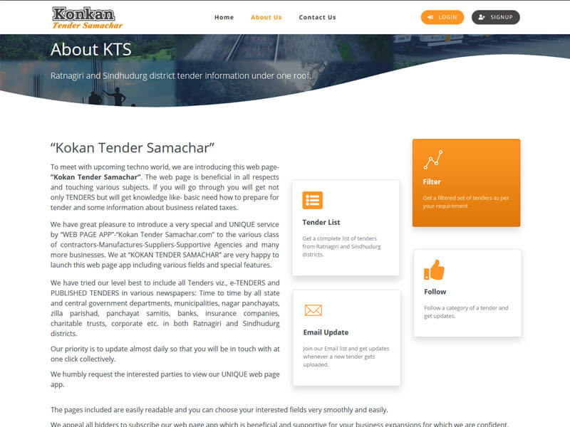 Konkan Tender Samachar